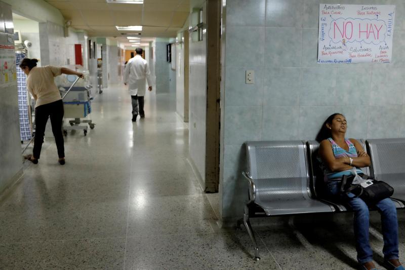 Crise nos hospitais venezuelanos