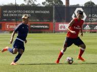 Jogo-treino entre Benfica e Cova da Piedade (fotos: SL Benfica)