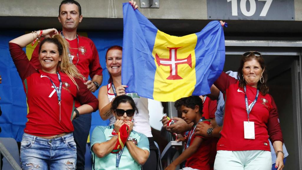 Família Aveiro na final do Euro2016