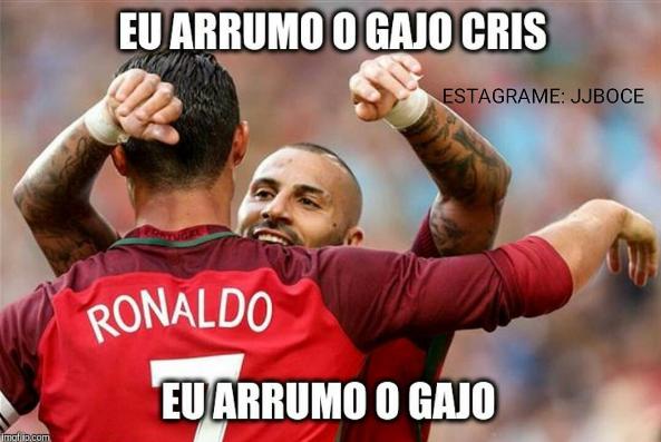 Os memes sobre a lesão de Ronaldo na final