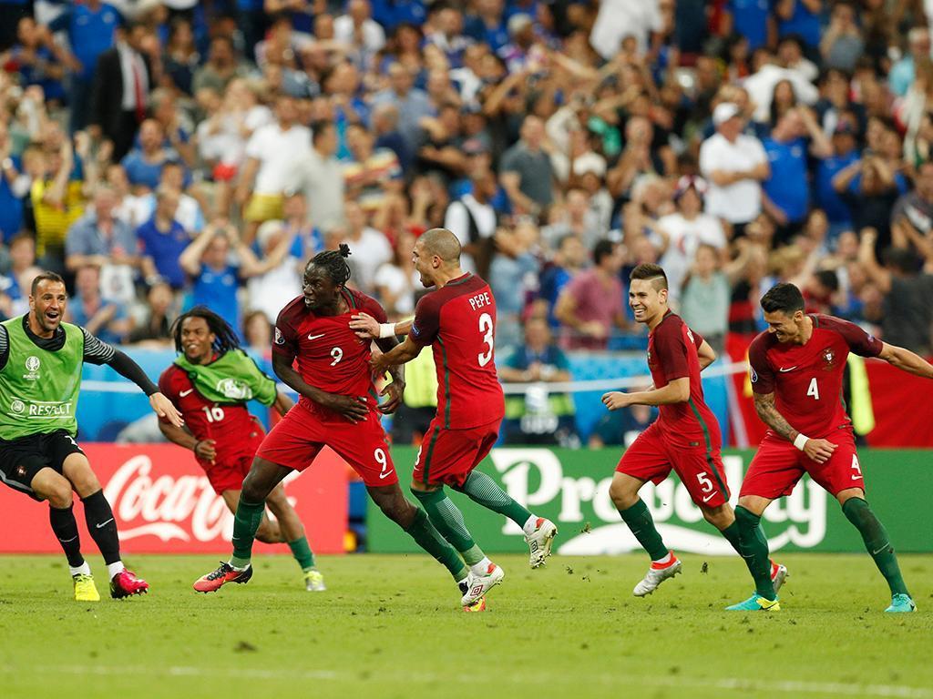 Portugal-França, 1-0, a.p. (crónica)
