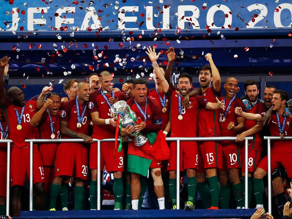 São estes os portugueses campeões da Europa!
