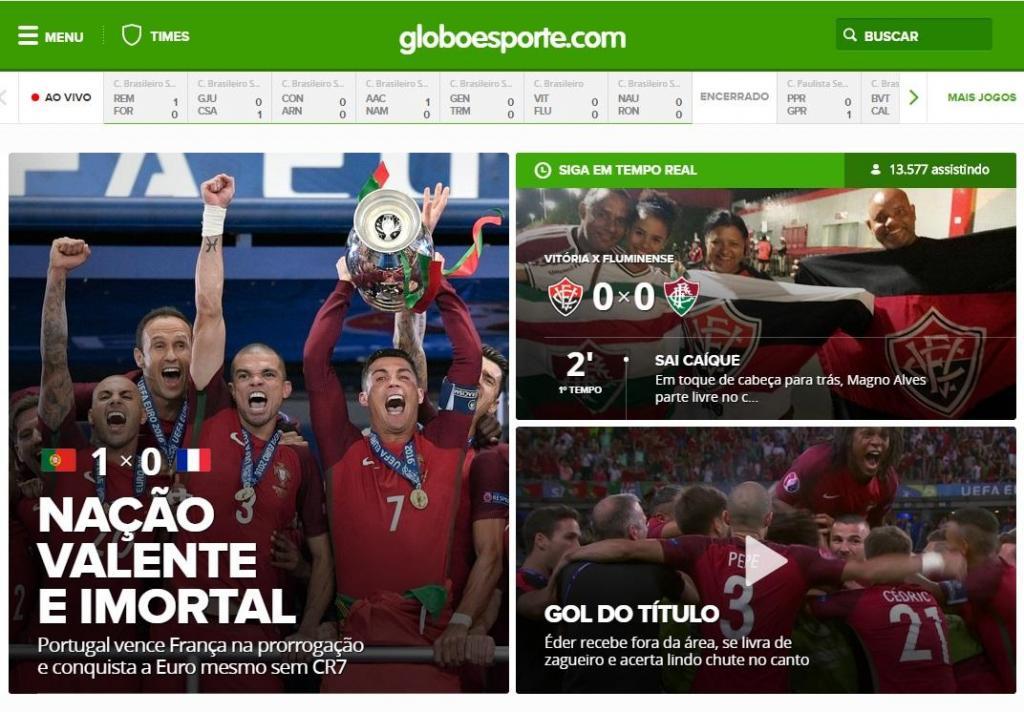 Portugal campeão: Maracanazo, lágrimas e a «nação valente» vista lá fora
