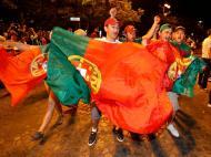 Portugal campeão Europeu, festa em Lisboa (Reuters)