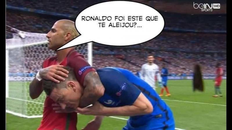 Memes da vitória portuguesa