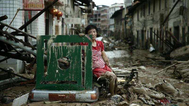 Tufão Nepartak faz estragos no leste da China