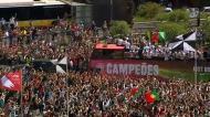 Marquês de Pombal parou para ver os campeões