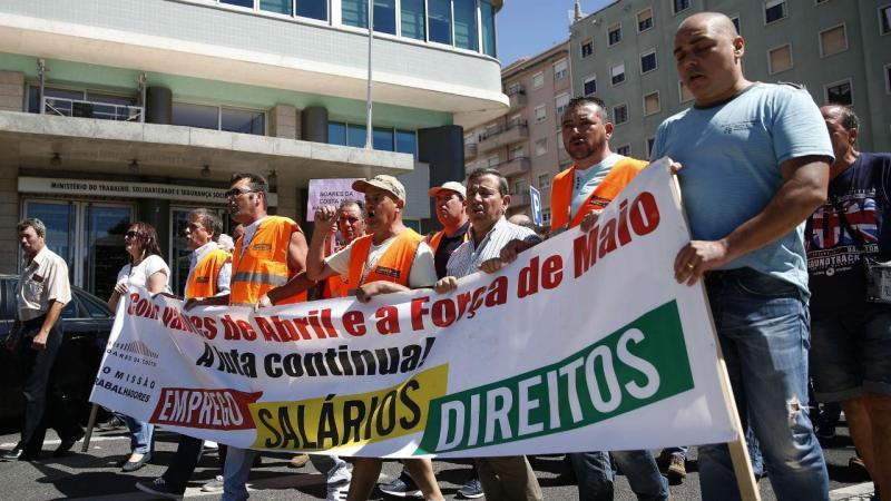 Trabalhadores da Soares da Costa