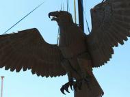Águia do Estádio da Luz vai para restauro (foto SLB)