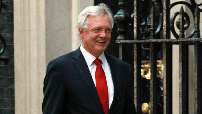 David Davis - ministro encarregado da saída da União Europeia