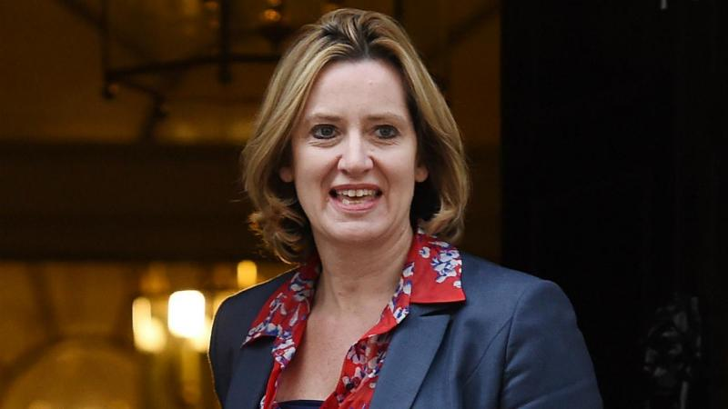 Amber Rudd - ministra do Interior