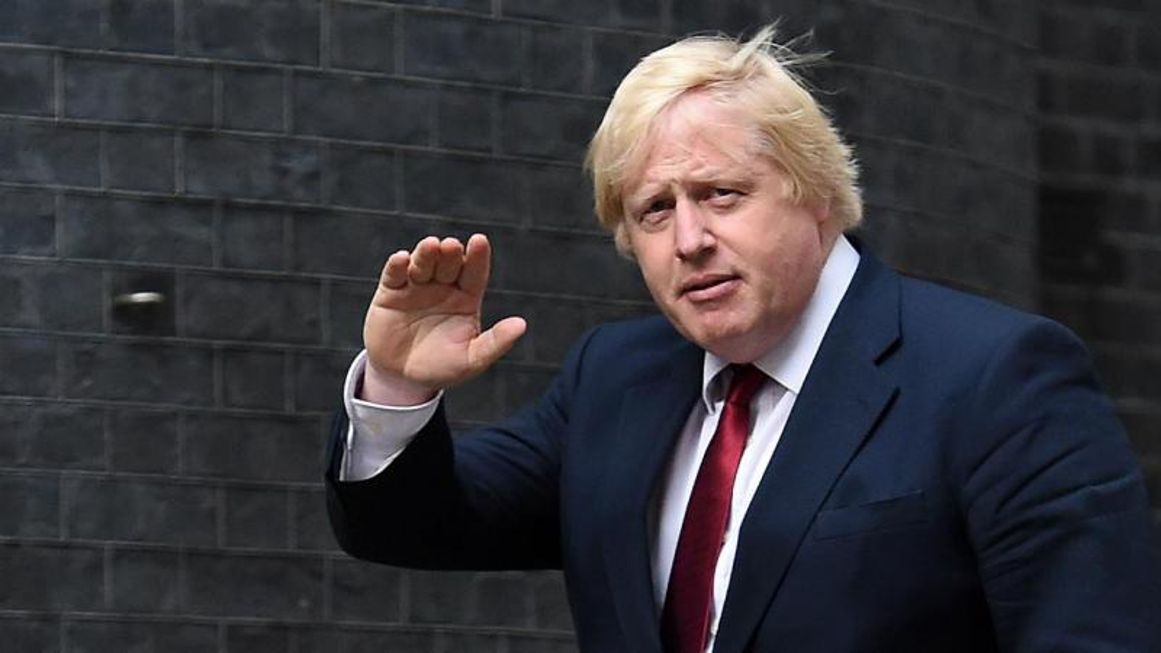 Boris Johnson - ministro dos Negócios Estrangeiros