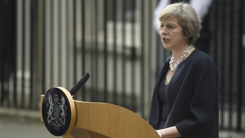 Theresa May, primeira-ministra britânica
