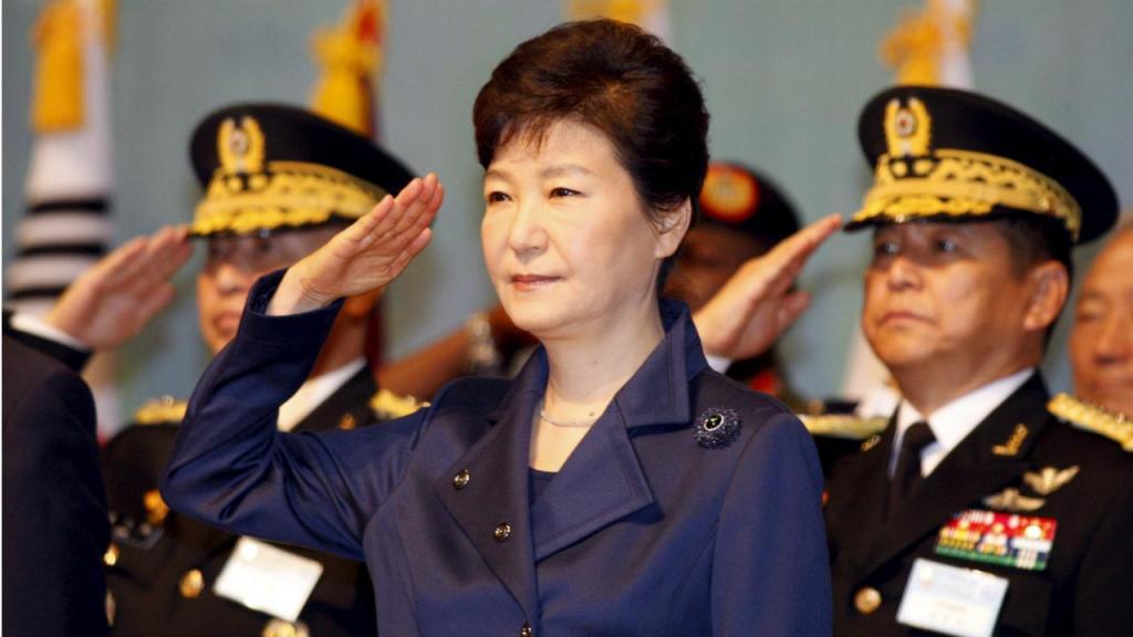 Park Geun-Hye, presidente sul-coreana