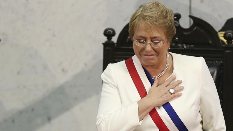 Michelle Bachelet, presidente chilena