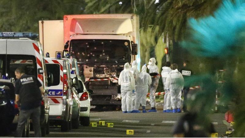 Primeiros momentos após o atentado