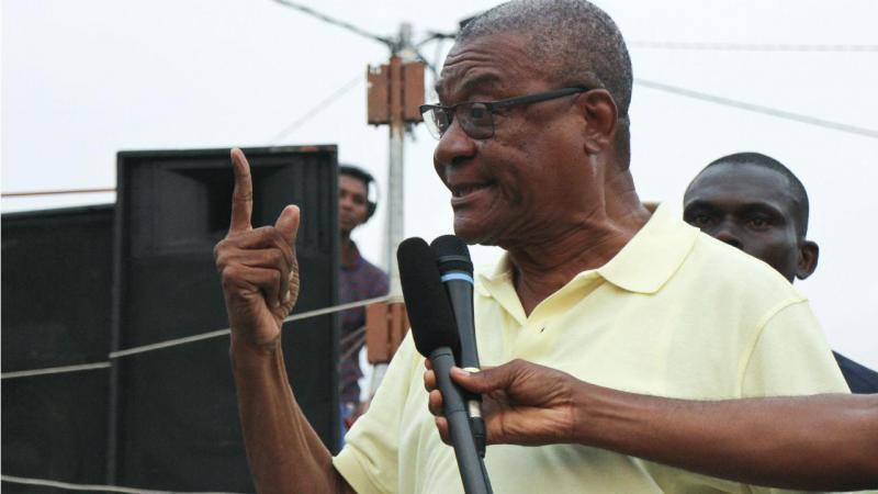 Evaristo Carvalho, presidente de São Tomé