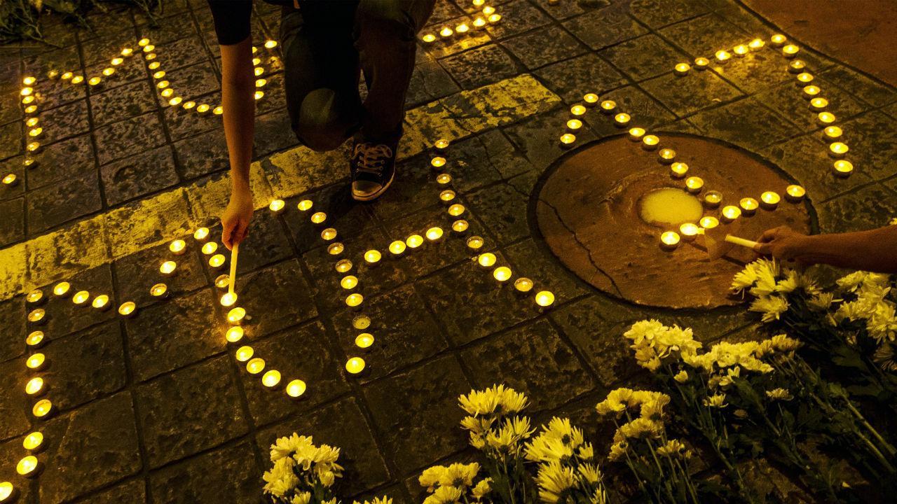 Um anós após o desaparecimento do MH17 da Malaysia Ailines.