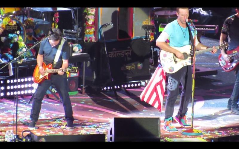 Michael J. Fox e Coldplay
