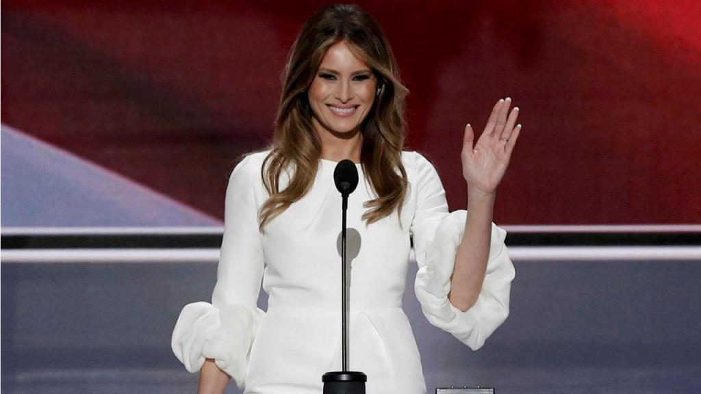 Melania Trump é casada com Donald Trump desde 2005. A ex-modelo eslovena tem um filho em comum com o milionário