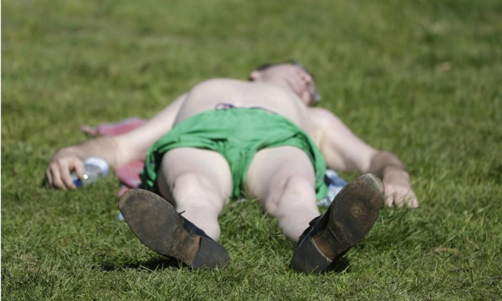 Onda de calor no Reino Unido