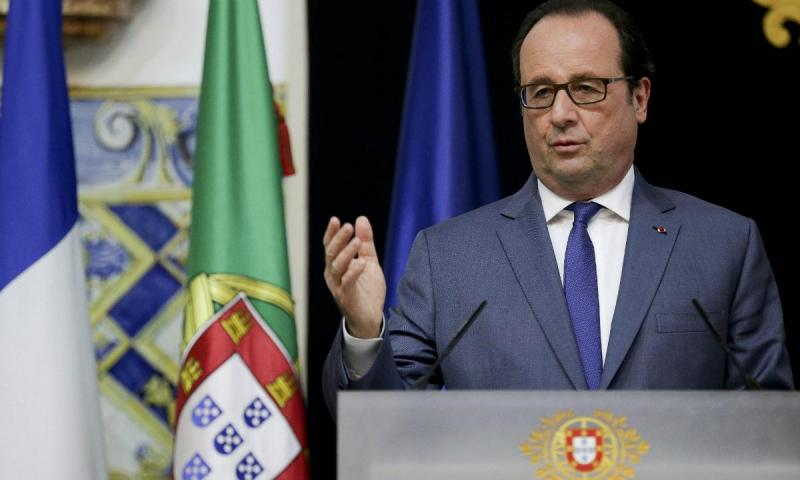 François Hollande visita Portugal
