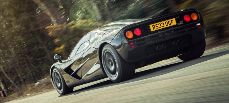 McLaren F1 da década de 90