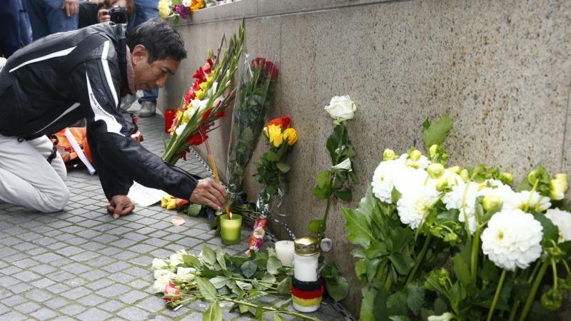 O dia seguinte ao tiroteio em Munique