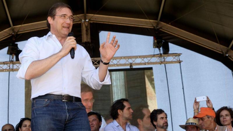 Passos Coelho na festa do PSD na Madeira