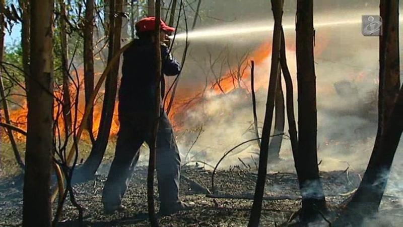 Incêndios preocupam bombeiros