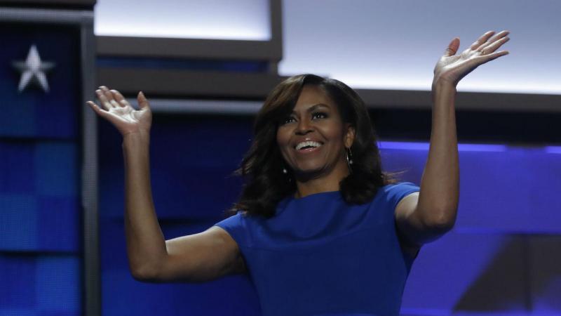 Michelle Obama teve um dos discursos mais elogiados do primeiro dia da convenção do Partido Democrata em Filadélfia [Foto: Reuters]