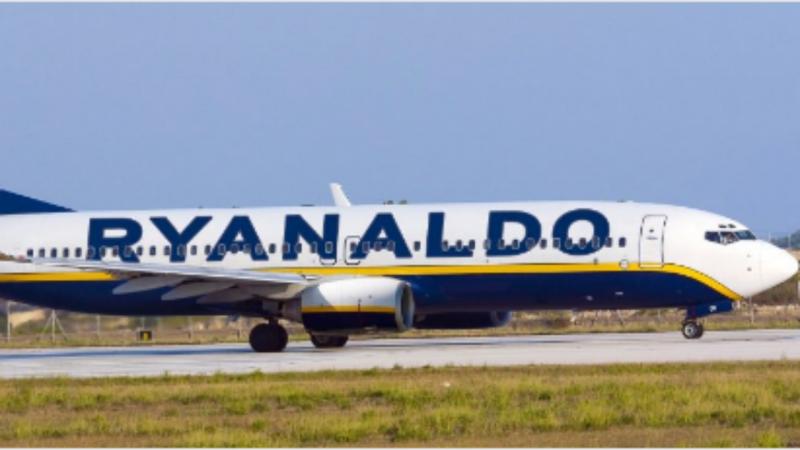 Raynaldo: o novo avião da Raynair