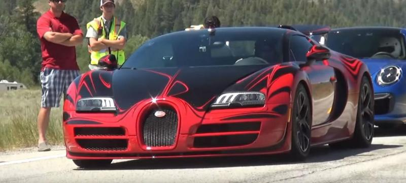 Bugatti Veyron Grand Sport Vitesse L'Or Rouge