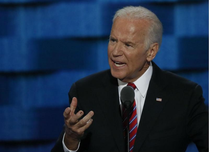 Joe Biden na Convenção Nacional do Partido Democrata, em Filadélfia [Foto: Reuters]