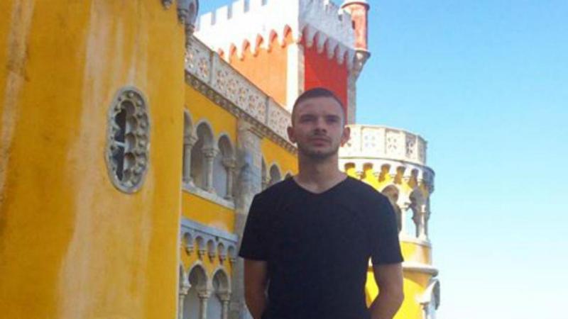 Anthony em Sintra