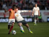 Galatasaray-Manchester United (Lusa)