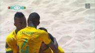 Futebol de praia: Portugal-Brasil, os golos do segundo tempo