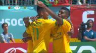 Futebol de praia: Portugal-Brasil, os golos do terceiro tempo