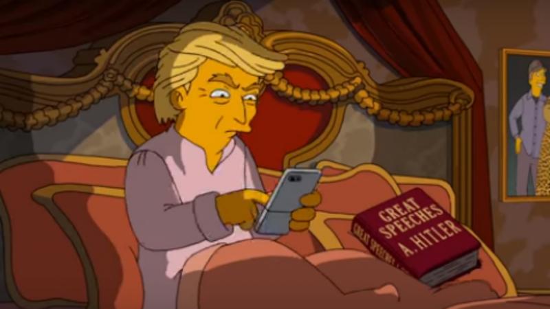 Donald Trump é alvo de sátira nos Simpsons