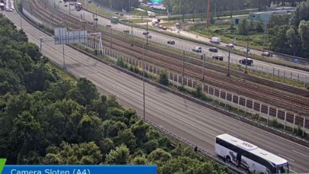 Autoestrada cortada na Holanda