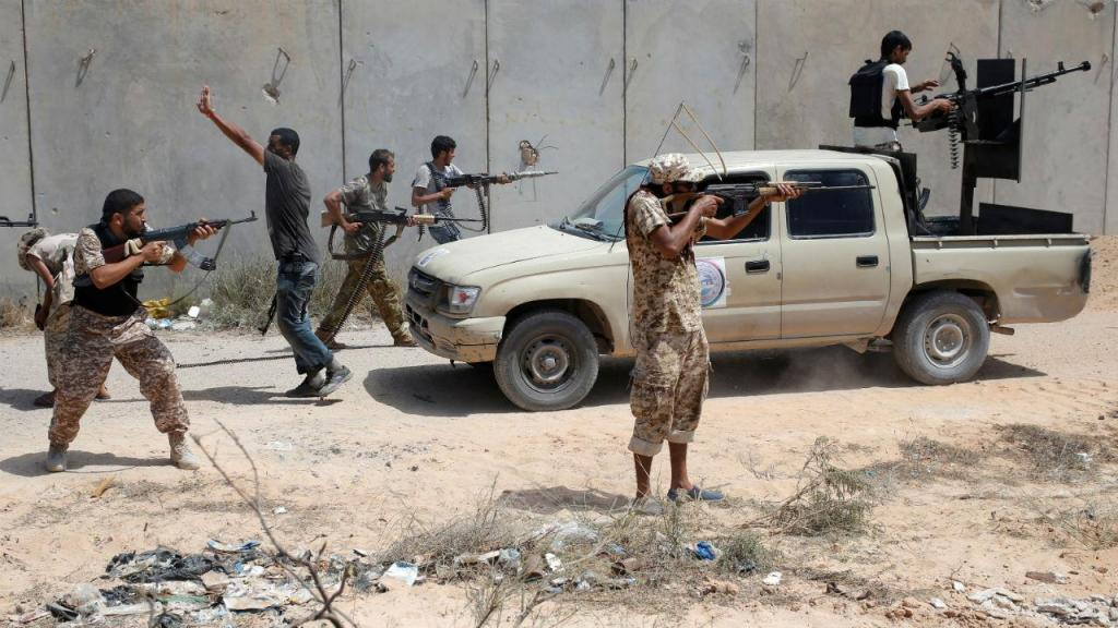Combates em Sirte - Líbia