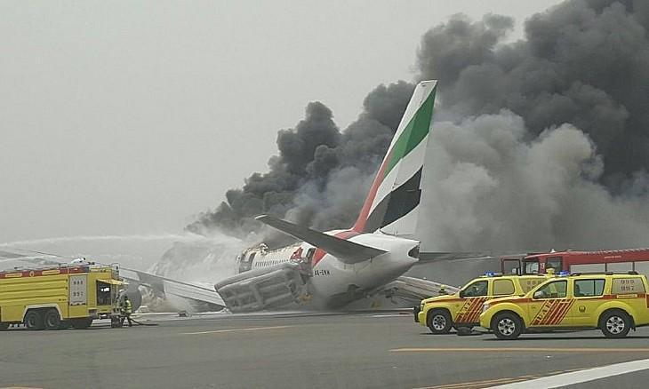 Acidente com avião da Emirates no Dubai