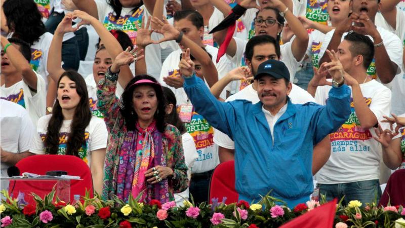 Daniel Ortega e Rosario Murillo