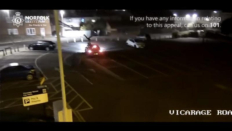 Atropelamento e fuga em Norfolk