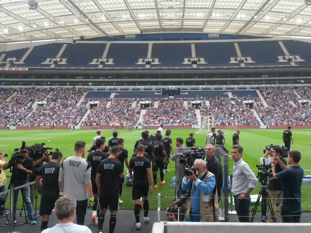 FC Porto: treino aberto no Dragão