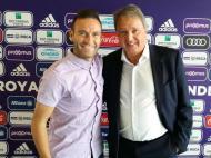 Diego Capel no Anderlecht (Foto site oficial Anderlecht)