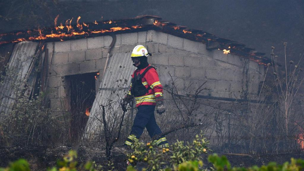 Incêndio em Melres e Medas, Gondomar