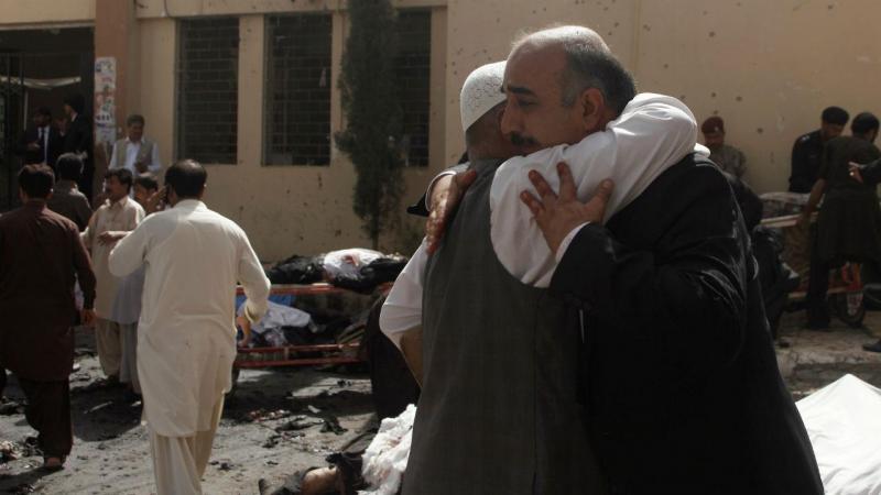 Explosão em hospital do Paquistão