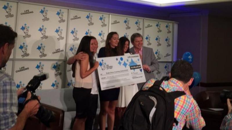 Família vence 72 milhões de euros na Lotaria Nacional, no País de Gales