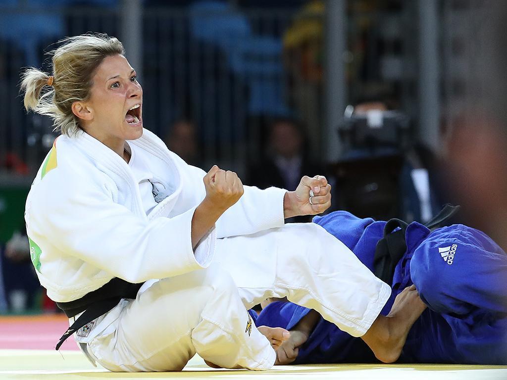 Telma Monteiro (Fotos: COP)